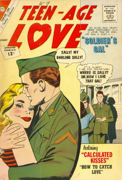 Cover for Teen-Age Love (Charlton, 1958 series) #27