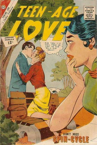 Cover for Teen-Age Love (Charlton, 1958 series) #28