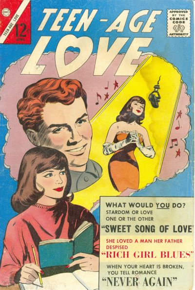 Cover for Teen-Age Love (Charlton, 1958 series) #31