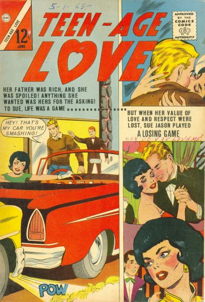 Cover for Teen-Age Love (Charlton, 1958 series) #32
