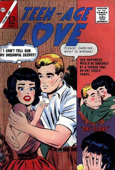 Cover for Teen-Age Love (Charlton, 1958 series) #33