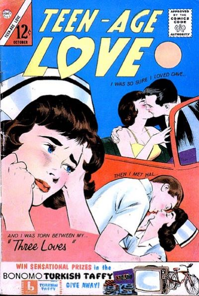 Cover for Teen-Age Love (Charlton, 1958 series) #34