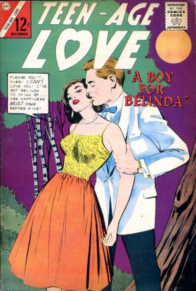 Cover for Teen-Age Love (Charlton, 1958 series) #35