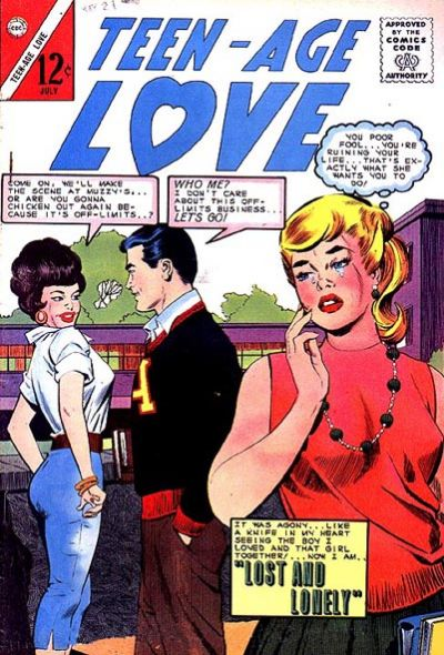 Cover for Teen-Age Love (Charlton, 1958 series) #38