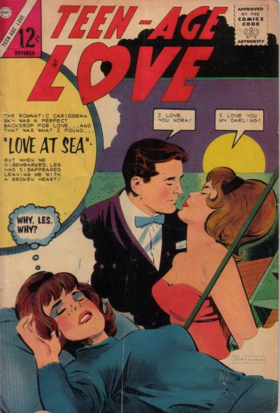 Cover for Teen-Age Love (Charlton, 1958 series) #39