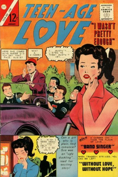 Cover for Teen-Age Love (Charlton, 1958 series) #40