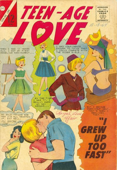 Cover for Teen-Age Love (Charlton, 1958 series) #41