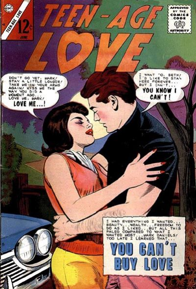 Cover for Teen-Age Love (Charlton, 1958 series) #42