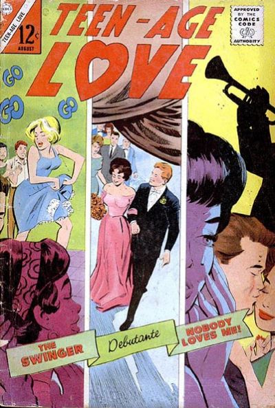 Cover for Teen-Age Love (Charlton, 1958 series) #43