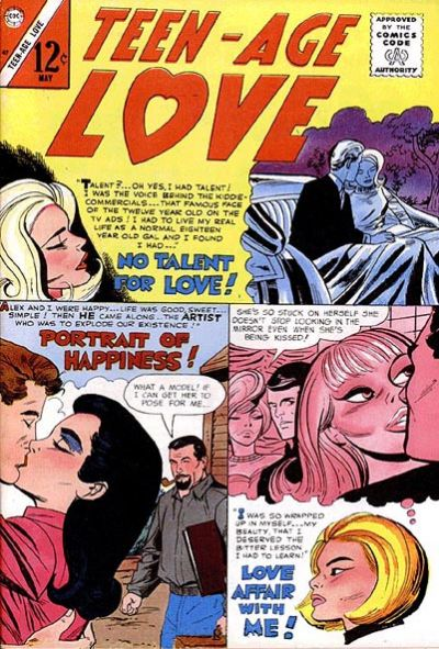 Cover for Teen-Age Love (Charlton, 1958 series) #47