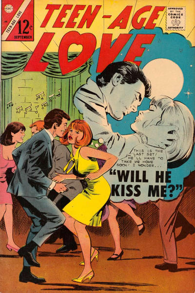 Cover for Teen-Age Love (Charlton, 1958 series) #49