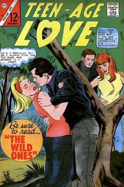 Cover for Teen-Age Love (Charlton, 1958 series) #50
