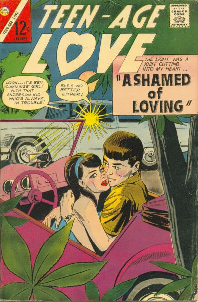 Cover for Teen-Age Love (Charlton, 1958 series) #51