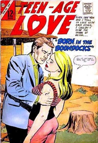 Cover for Teen-Age Love (Charlton, 1958 series) #52