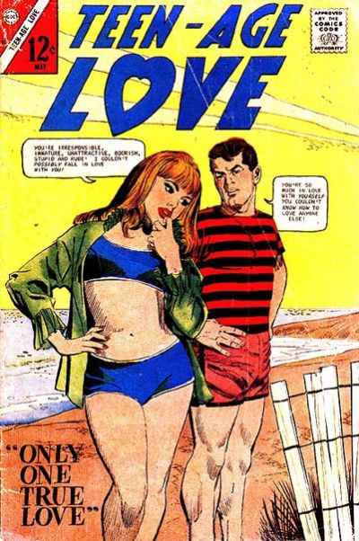 Cover for Teen-Age Love (Charlton, 1958 series) #53