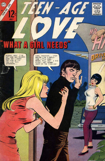 Cover for Teen-Age Love (Charlton, 1958 series) #54