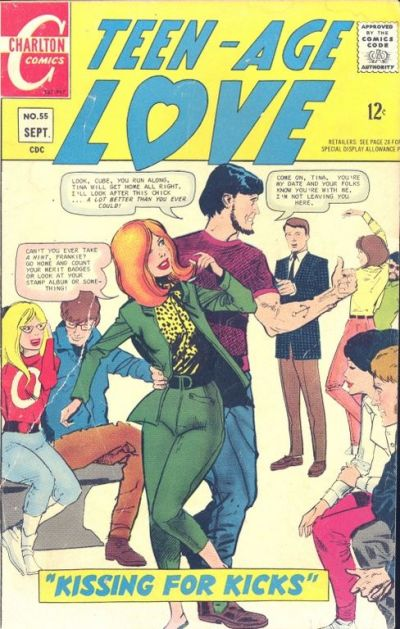 Cover for Teen-Age Love (Charlton, 1958 series) #55