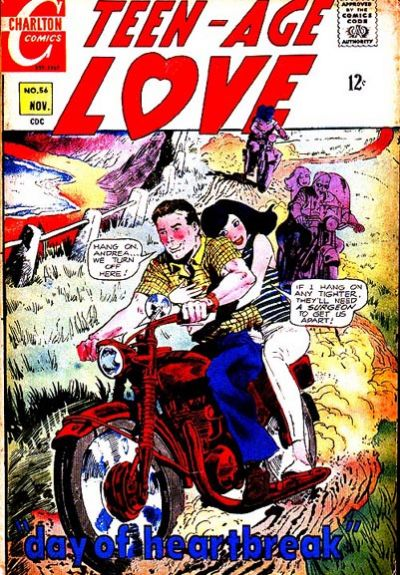 Cover for Teen-Age Love (Charlton, 1958 series) #56