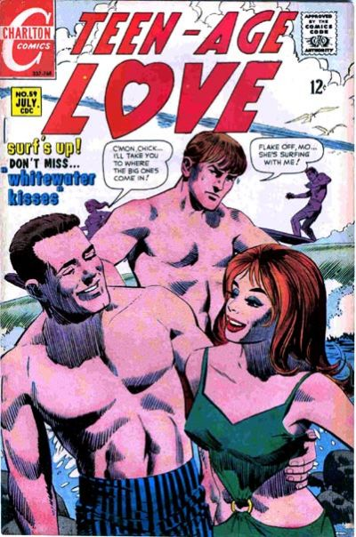 Cover for Teen-Age Love (Charlton, 1958 series) #59