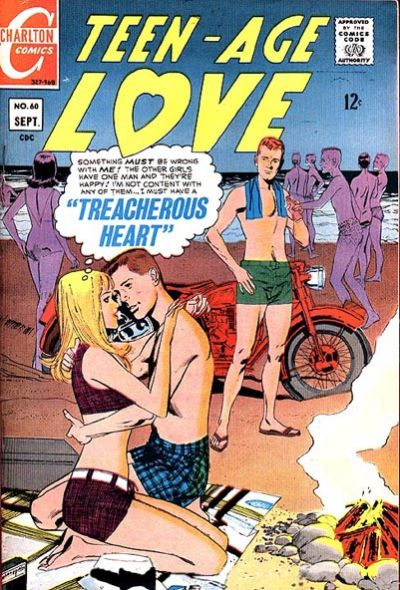 Cover for Teen-Age Love (Charlton, 1958 series) #60