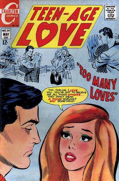 Cover for Teen-Age Love (Charlton, 1958 series) #64