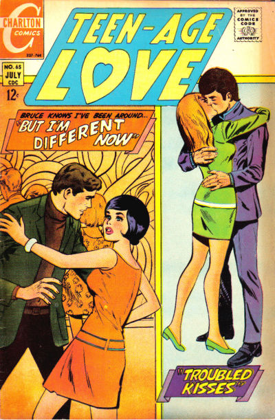 Cover for Teen-Age Love (Charlton, 1958 series) #65
