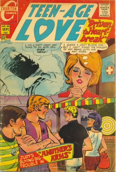 Cover for Teen-Age Love (Charlton, 1958 series) #66
