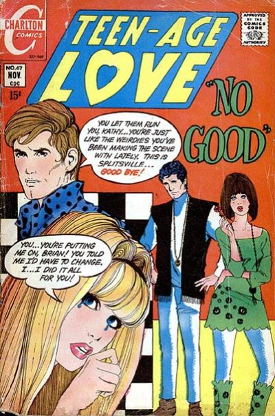 Cover for Teen-Age Love (Charlton, 1958 series) #67