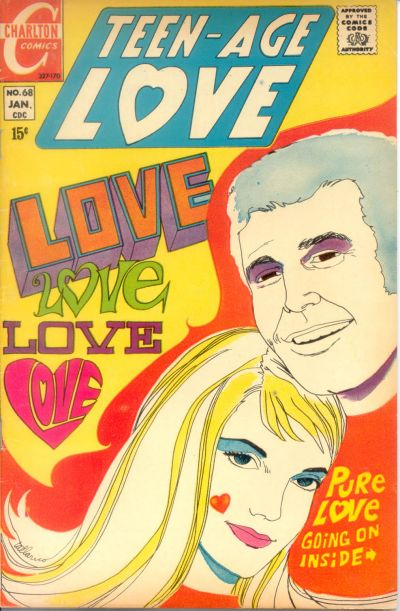 Cover for Teen-Age Love (Charlton, 1958 series) #68