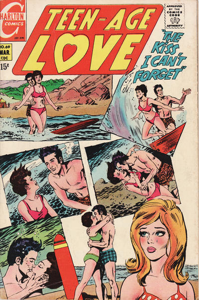 Cover for Teen-Age Love (Charlton, 1958 series) #69
