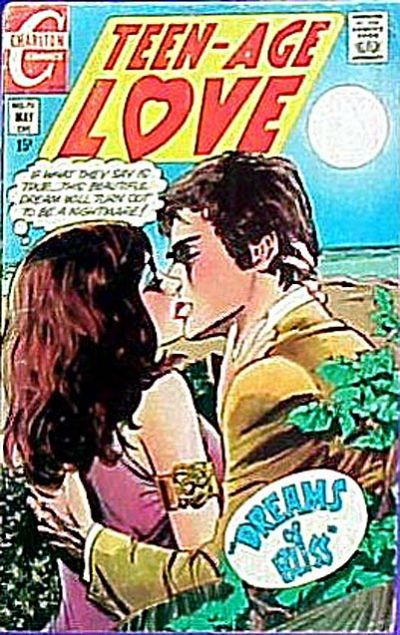Cover for Teen-Age Love (Charlton, 1958 series) #70