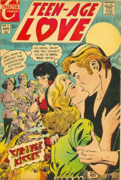 Cover for Teen-Age Love (Charlton, 1958 series) #72