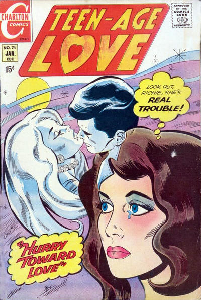 Cover for Teen-Age Love (Charlton, 1958 series) #74