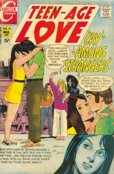 Cover for Teen-Age Love (Charlton, 1958 series) #75