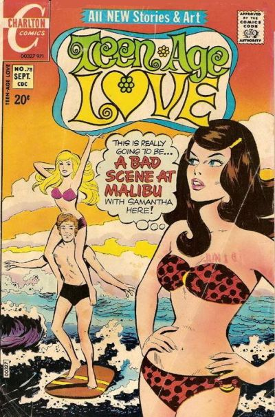 Cover for Teen-Age Love (Charlton, 1958 series) #78