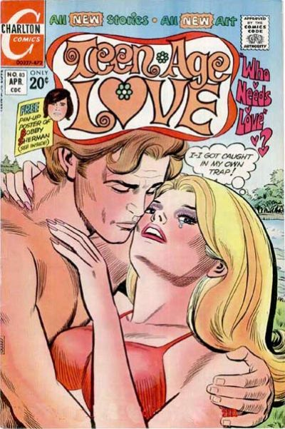 Cover for Teen-Age Love (Charlton, 1958 series) #83