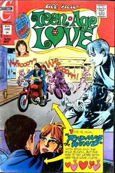 Cover for Teen-Age Love (Charlton, 1958 series) #84