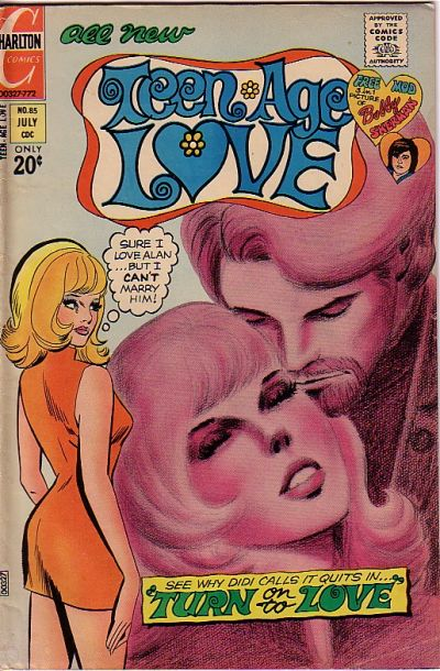 Cover for Teen-Age Love (Charlton, 1958 series) #85