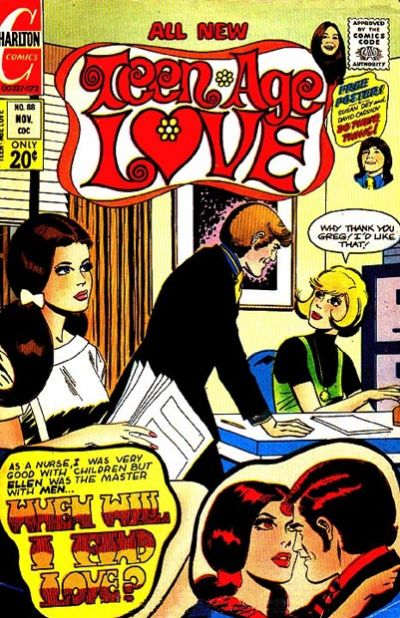 Cover for Teen-Age Love (Charlton, 1958 series) #88