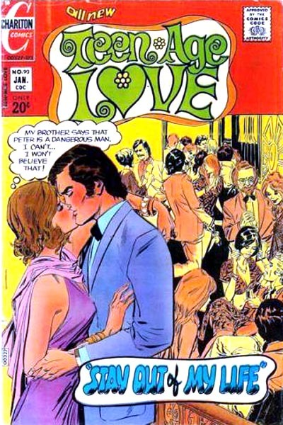 Cover for Teen-Age Love (Charlton, 1958 series) #90