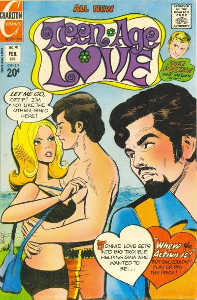 Cover for Teen-Age Love (Charlton, 1958 series) #91