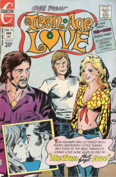 Cover for Teen-Age Love (Charlton, 1958 series) #94