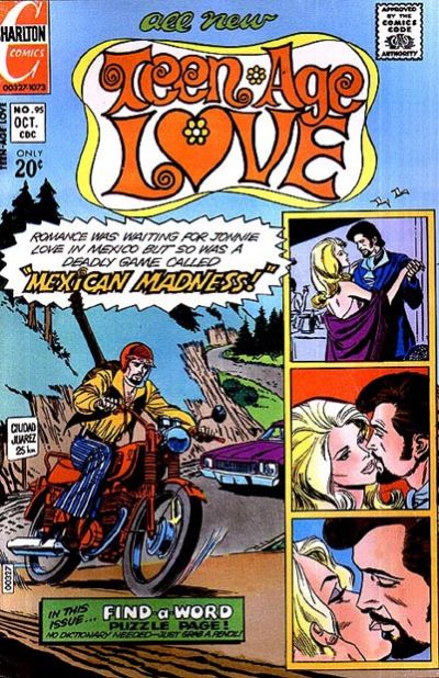 Cover for Teen-Age Love (Charlton, 1958 series) #95