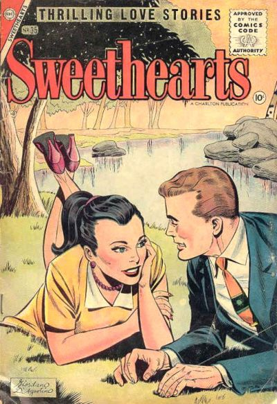Cover for Sweethearts (Charlton, 1954 series) #35