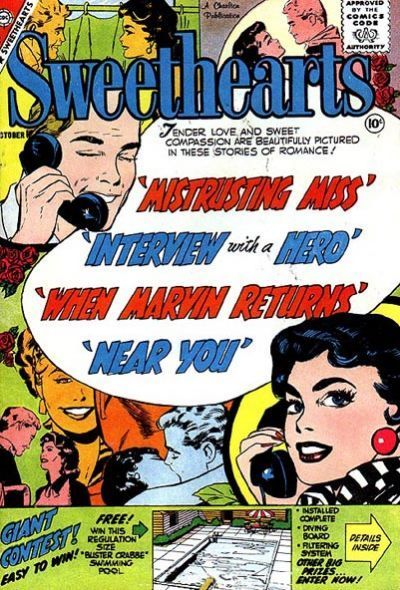 Cover for Sweethearts (Charlton, 1954 series) #50
