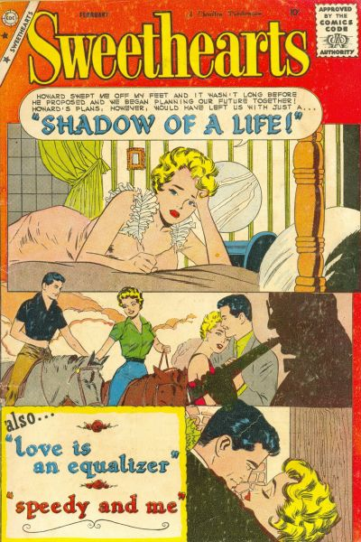 Cover for Sweethearts (Charlton, 1954 series) #52