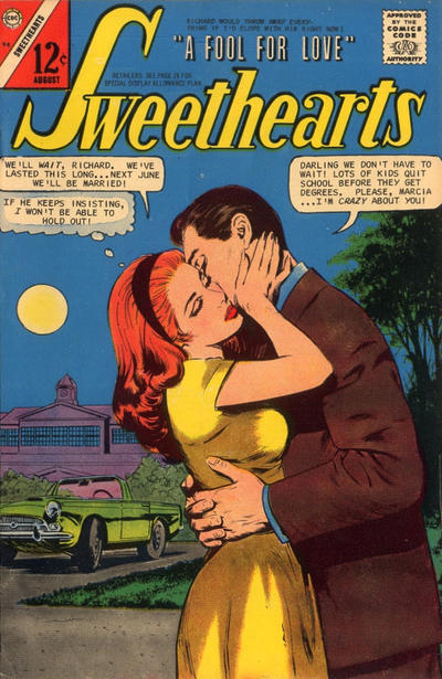 Cover for Sweethearts (Charlton, 1954 series) #94