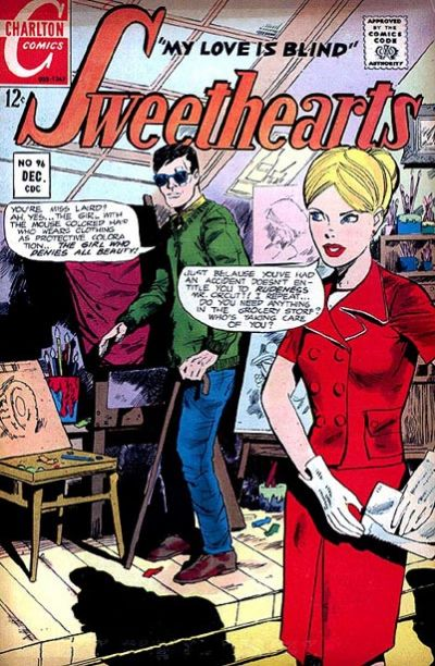 Cover for Sweethearts (Charlton, 1954 series) #96