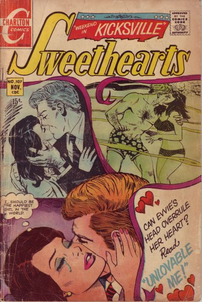 Cover for Sweethearts (Charlton, 1954 series) #107