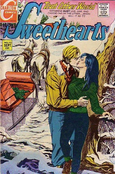Cover for Sweethearts (Charlton, 1954 series) #112